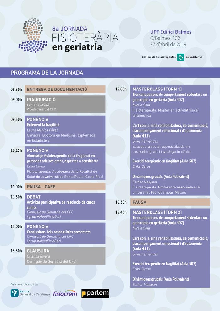 Programa oficial de la Jornada